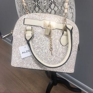 Aldo Crossbody Glitter Bag